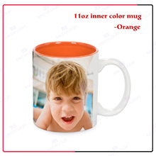 Mecolour Directly Factory 11oz Top Grade Inner Colourful Sublimation Mugs Wholesale