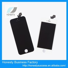 Good quality wholesales price for iphone 5S lcd touch screen glass