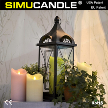 Remote control LED flameless candle velas with timer USA & EU patent approved!