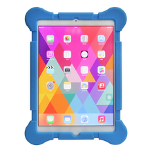 2015 hot selling Four rounded silicone case for ipad mini