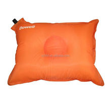 energetic orange rectangular self inflatable pillow,Self Inflating Air Pillow for camping
