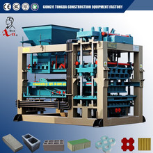 Automatic cement block brick making machinery for small scale construction industry equipment