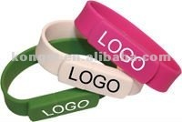 Promotion Gift Bracelet USB flash drives /Pebdrives free logo with factory price 1gb/2gb /4gb