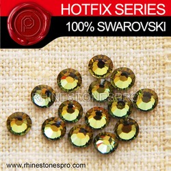Swarovski Elements Fashionable Tabac (TAB) 16ss Crystal Iron On Hot Fix Rhinestone