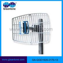 Factory wholesale grid parabolic long range antenna for GSM/ WCDMA/ WIFI/ WIRELESS/ WLAN