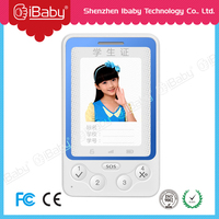 2015 High Quality GPS Tracker for Kids/Old People ID card gps ID Card GPS Tracker