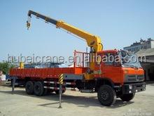 10 ton high quality telescopic boom truck mounted hydraulic crane