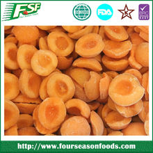 bulk chinese IQF/frozen apricot in 2015, frozen apricot dices/slices/halves