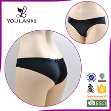 seamless bow black sex OEM service latest design ladies' sexy fancy panty thong