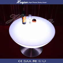 Waterproof LED Cube table Lighting/Rechargeable RGB LED Bar table