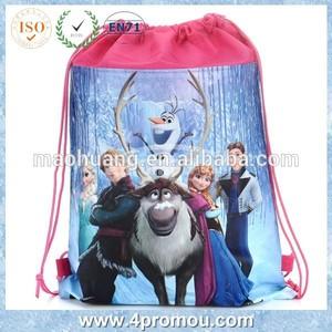 Cheap wholesale frozen drawstring bag