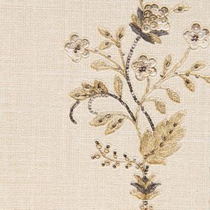 Dorure paillettes paillettes fleur de lin deep gaufrage lourd et épais étanche. maison conception de vinyle papier peint de pvc