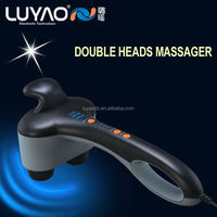 Electric shock massager with double head massage LY-606K