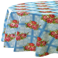 Table Decoration / Hotel Polyester Round Table Cloth