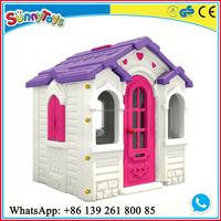 Kids outdoor playground mini house/plastic kids house