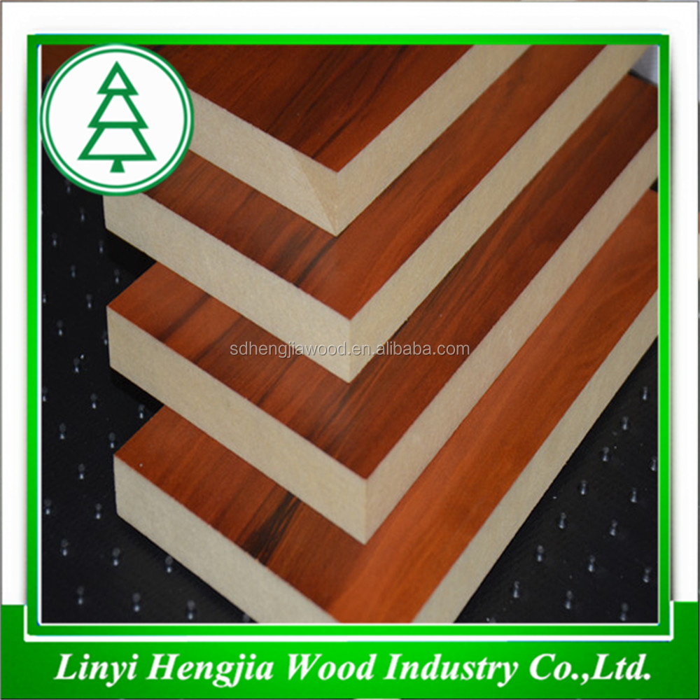 Waterproof mdf board with top quality best price interior