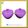 new 2013 hot selling silicone heart shape mini coin wallet