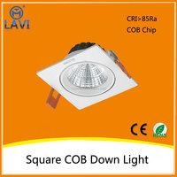 Alibaba trade assurance best sell 6500K 10W 30w swiveling cob led downlights