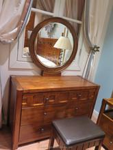 DR0902 Foshan factory wholesale convex shape antique dressers for sale