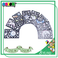 Hot Sell Good Price New Design Colorful Fashion Style Good Material 3D Led Night Wall Sticker
