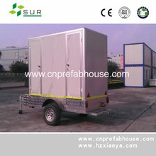 toilet with effect water sewage recycling system