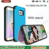 silicone cell phone case for Samsung galaxy S6 silicon rubber Case for S6 with stand function Phone Case