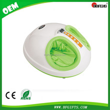 Electric foot massager kneading shiatsu scrapping roller air massage with heating