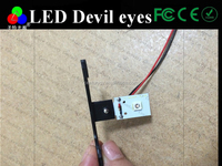 China supply angle Led Devil eyes for hid projector Red/Blue/Green/White LED evil eye for projector lens light,headlight devil