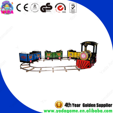Little train Amusement Park ride train with track For Children