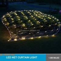 3M RGB 110V/220V Outdoor Christmas/Party/Wedding Decoration led blue large net lights
