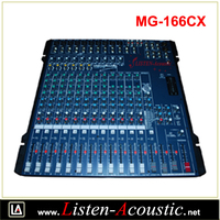 MG-166CX Battery powered Audio Sound Mixer digital Console