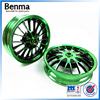 Motorcycle body parts alloy wheel , aluminum spoke rims wholesale