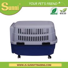 Dog transport bag on wheels pet carrier
