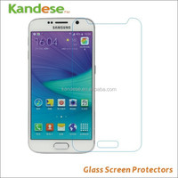 Best Quality 9h Hardness Cell Phone Tempered Glass Screen Protector For Samsung Galaxy S6