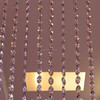 2015 new design K9 crystal glass beads curtains