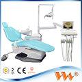 europa estándar de tamaño de la silla dental con el ce dental integral sillas precio unitario