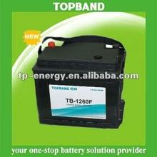 TOPBAND high quality (LiFePO4)solar battery 12v 60ah TB-1260F