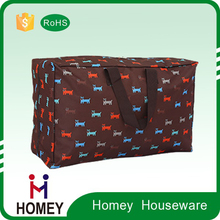 Foldable Storage Bag Clothes Blanket Closet Sweater Organizer Box Charcoal Large Volume from Protrader