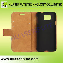 Wholesale Factory Retro PU Leather Phone Bag Cover Wallet Stand Card Cell Phone Cases For Samsung Galaxy Alpha G850