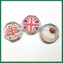 Round Shape with Sticker Iron Mirror