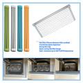 utensilios de cocina estante para platos de cocina de silicona de rack