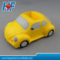 car shape mobile phone holder pu stress balls