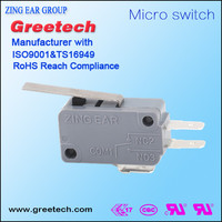 Sensing and control small electrical limit sealed toggle switches