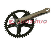 hot selling most popular high quality bicycle single speed chainwheel and crank