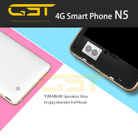 Stylish appearance kingzone N5 quad core smart phone 4G FDD LTE metal body mobile phone 2gb ram 16gb rom smart phone