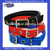 Adjustable polyester chinese factory dog collars wholesale