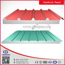 Excellent PU / EPS concrete sandwich panel in low prices