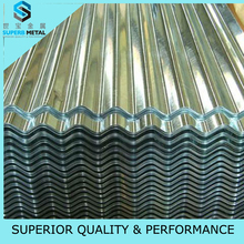 Oiled/Chromated surface treatment specific heat galvanized steel hot selling in south american/north american