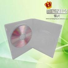 14mm plastic full-clear double /single DVD Cases jewel case jewel box