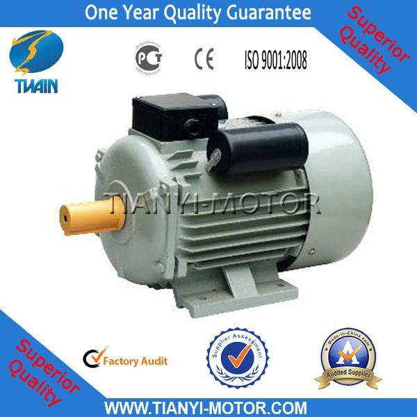 Single Phase Yc Electric Motor 5hp 220v Buy Single Phase